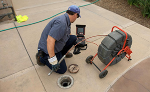 Drain Cleaning Sewer Camera Inspection